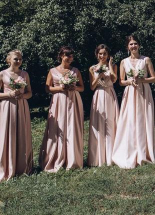Платья для подружек невесты для дружок вечерние випускное