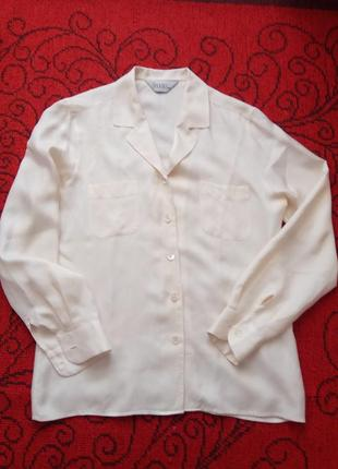 Блуза 100%шовк