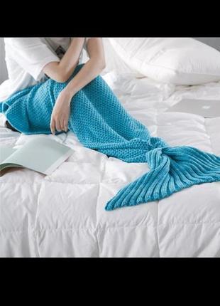 "Плед ""хвост русалки""(mermaid tail)🧜"