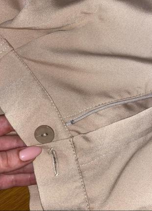 Шикарный брючный костюм со свободной кофтой на резинке6 фото