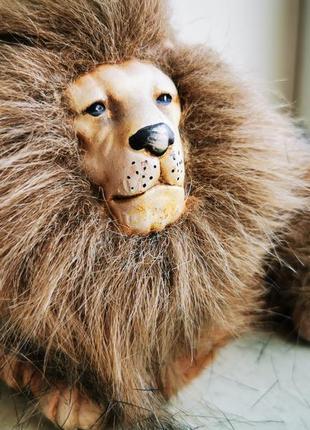 Интерьерная игрушка фигурка лев