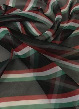 Шифоновый шелковый платок puccini италия