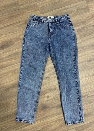 Варёный мом джинсы mom fit jeans