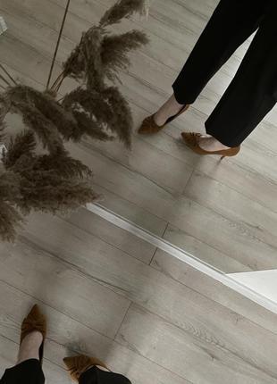 Рыжие-бежевые туфли большой размер 🧡