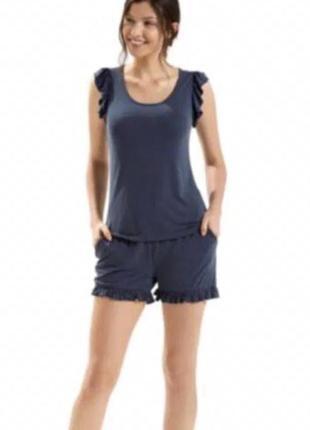 Пижама домашний костюм esmara lingerie шорты футболка оригинал германия