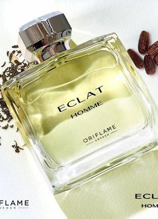 Мужская туалетная вода eclat homme + спрей-дезодорант eclat homme в подарок