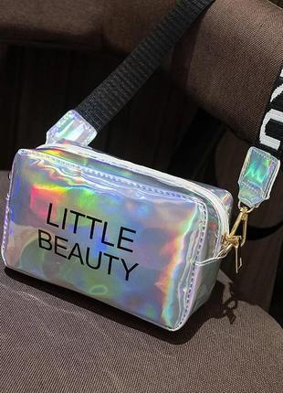 Сумка little beauty сумочка кросс- боди через плечо длинная ручкв4 фото