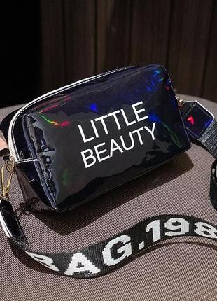 Сумка little beauty сумочка кросс- боди через плечо длинная ручкв