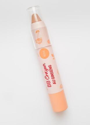 Erborian bb crayon nude. карандаш консилер для лица.
