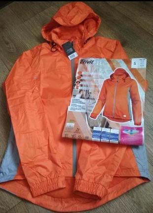Яркая красивая куртка ветровка crivit р. s, см.замеры на фото