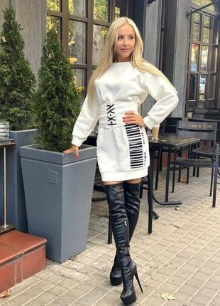 Стильное платье  корсет большие размеры
