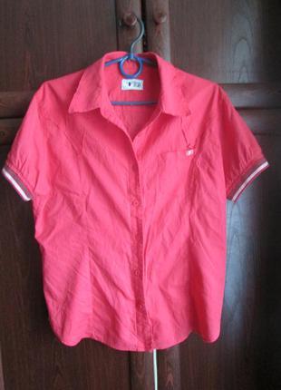 Модная рубашка на мальчика 44 размера американской фирмы loft.