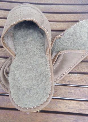 Тапки тапочки теплые легкие р.39-40 тапки с мехом