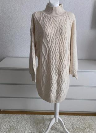 Теплое платье h&m  xl - 3xl(52-56р)