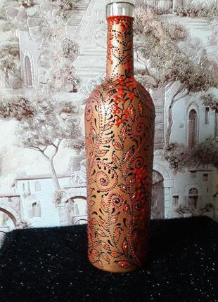 Винная бутылка хендмейд