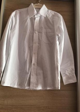 Рубашка  для мальчика белая фирмы george