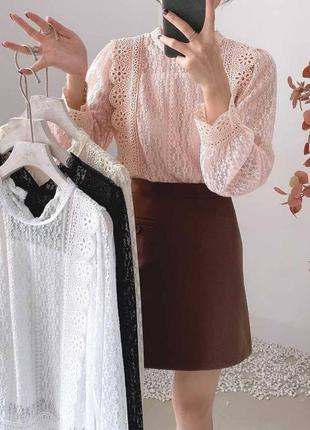 Блуза ажур6 фото