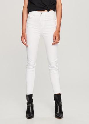 🔥 распродажа джинсы стрейчевые зауженные тёплые завышенная талия