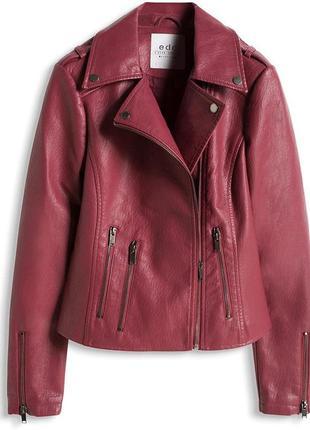 Куртка косуха из плотного кож зама edc