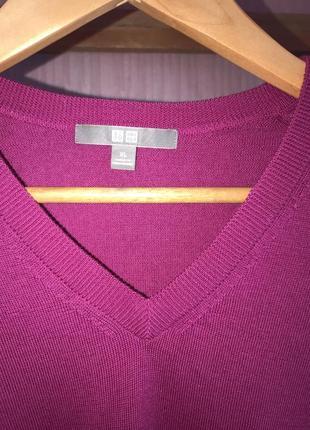 Пуловер фуксія
