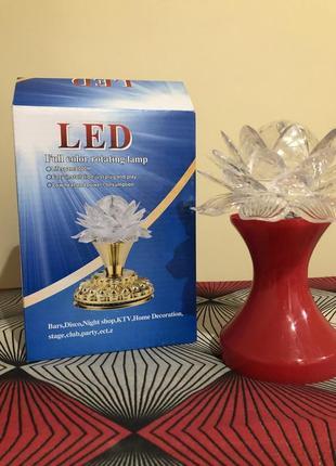 Світильник, проектор, диско-лампа-ночник