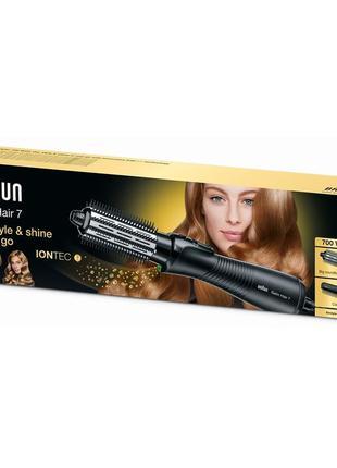 Стайлер для укладки satin hair 7 as 720 с функцией ионизации iontec