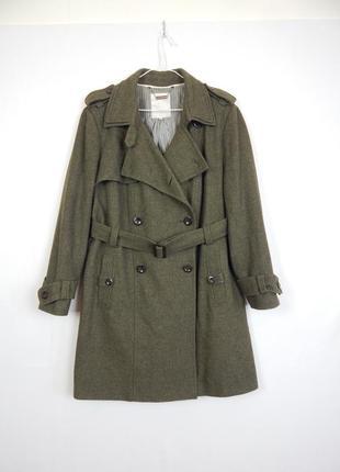 Роскошное шерстяное пальто - тренч от дизайнера с мировым именем rocha .john rocha