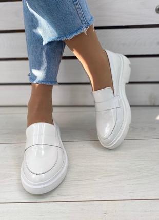 Туфли женские натуральная лаковая кожа 36-41р