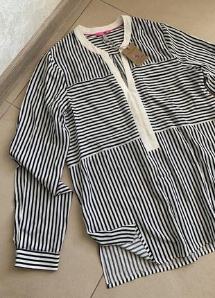 Трендовая блуза в полоску joules great britain