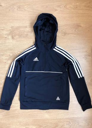 Ветровка куртка анорак олимпийка adidas на мальчика 9-10 лет