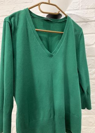 Классная кофта свитшот зелёного цвета redhering