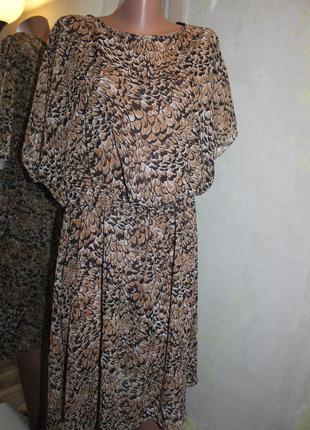 Воздушное платье - туника большой размер