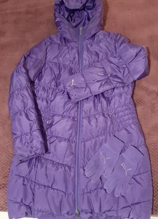 Зимняя женская куртка . puma.