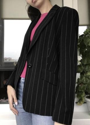 Оверсайз пиджак в полоску marks&spencer