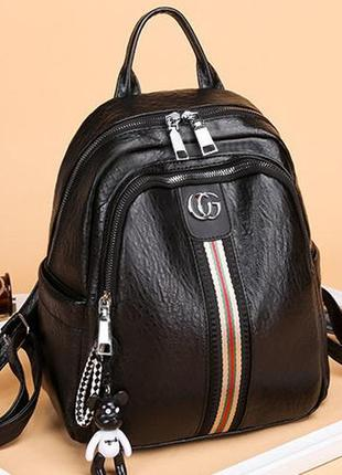 Женский рюкзак эко-кожа cg 1206 black