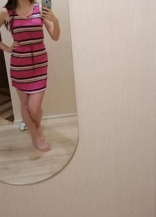 Яркое, летнее платье. платье.плаття.сукня