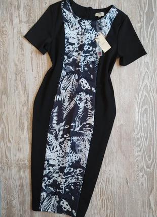Стрейчевое платье по фигуре, длина миди papaya размер 14