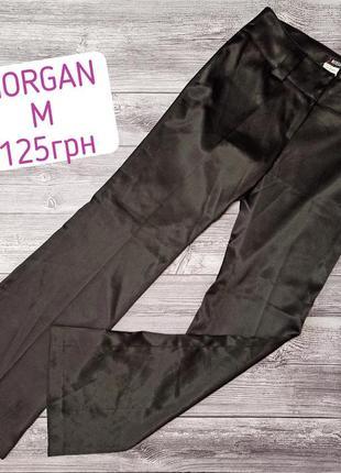 Брендовые атласные брюки