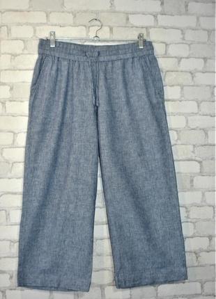"""Укороченные брюки кюлоты с карманами  """"h&m """"  50-52 р"""