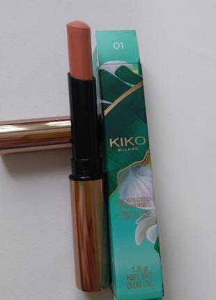Kiko milano unexpected paradise long lasting lip stylo стойкая матовая губная помада 01