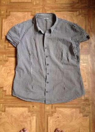 Молодежная рубашка и безрукавка