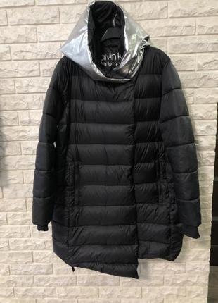Новая куртка, пуховик, пальто calvin klein оверсайз оригинал