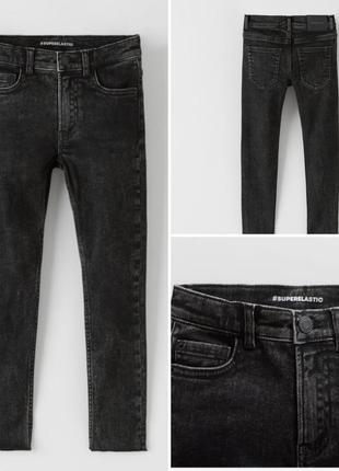Трендовый модные джинсы брюки  штаны  скинни для мальчика zara (испания)