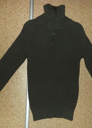 Теплый, норвежский свитер ulvang norway mens half zip jumper