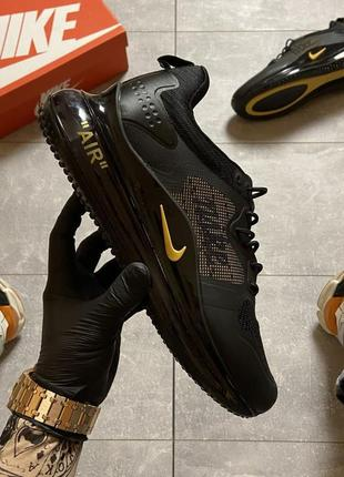 Кроссовки nike air max 720 black gold