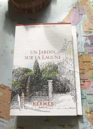Hermes un jardin sur la lagune