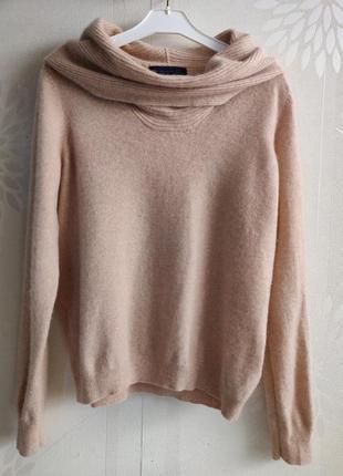 Кашемировый джемпер свитер полувер pure cashmere m&s