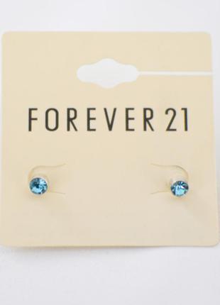 Гвоздики серьги forever 21