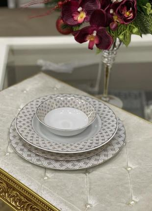 Новинка!!набор фарфоровых тарелок 💎5 фото
