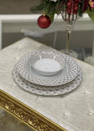 Новинка!!набор фарфоровых тарелок 💎6 фото